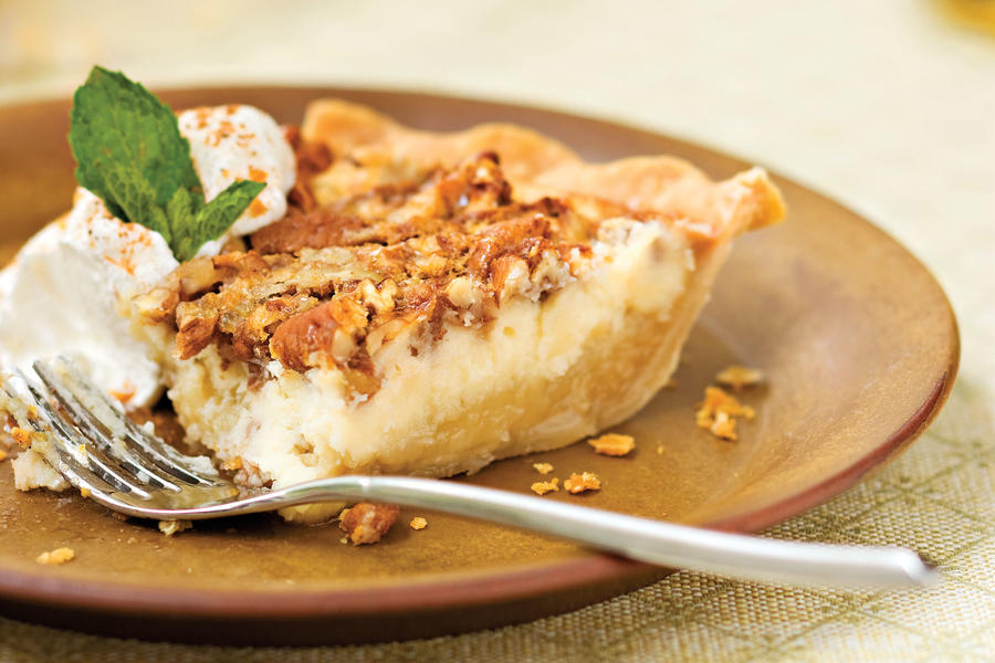 Pecan Recipes: Pecan Cheesecake Pie