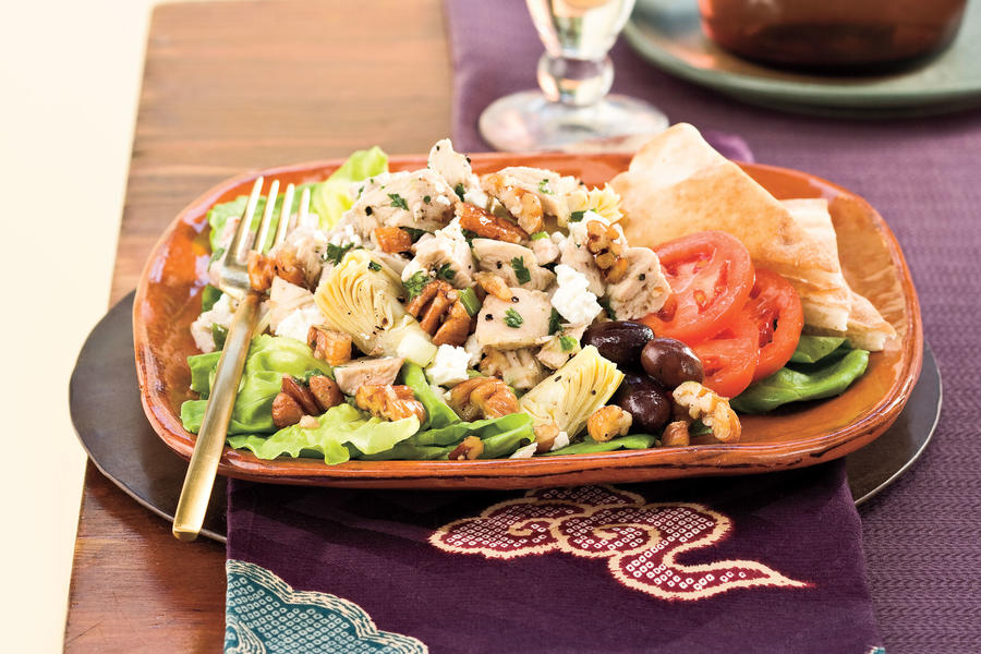 Turkey-Artichoke-Pecan Salad Recipes