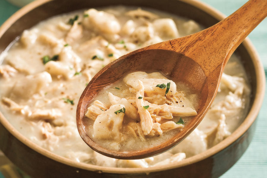 Chicken Comfort Food: Classic Chicken and Dumplings