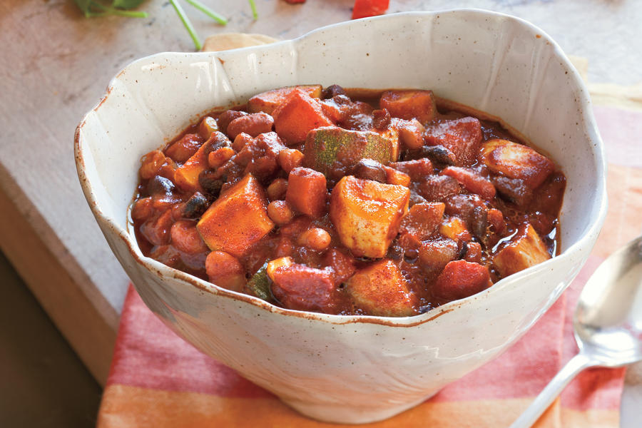 Southern Living Recipe: Big-Batch Veggie Chili