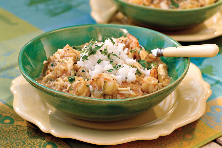 Cajun Recipe: Crab-and-Shrimp Etouffee