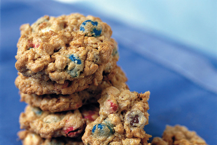 Fourth of July Menu: Chewy Red, White, and Blue Cookies