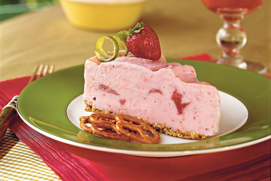 Spiked Strawberry-Lime Ice-Cream Pie Recipes