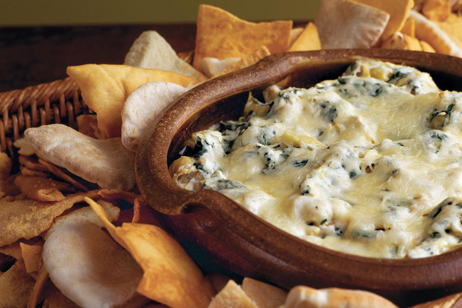 Baked Spinach-and-Artichoke Dip