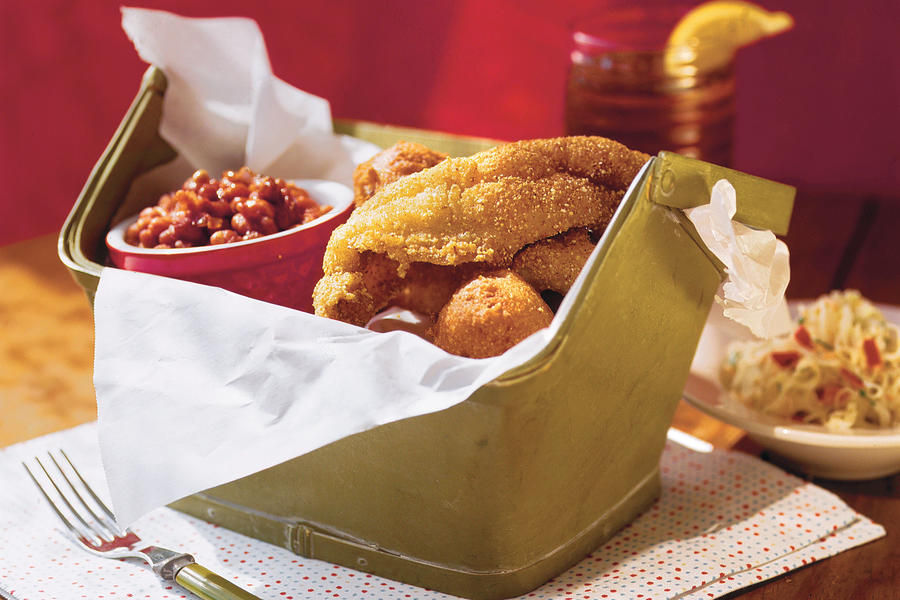 Quick and Easy Southern Recipes: Classic Fried Catfish