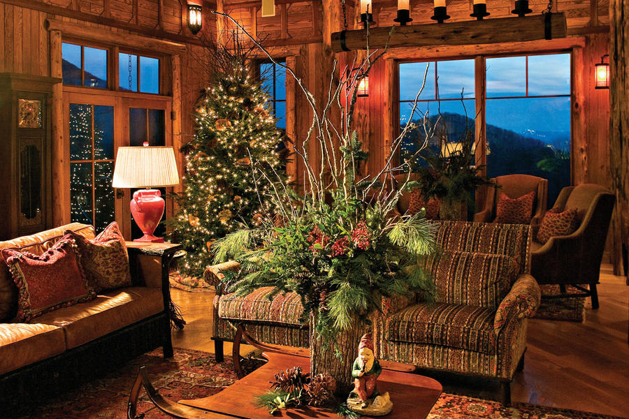 Holiday Arrangements--Mountain Style