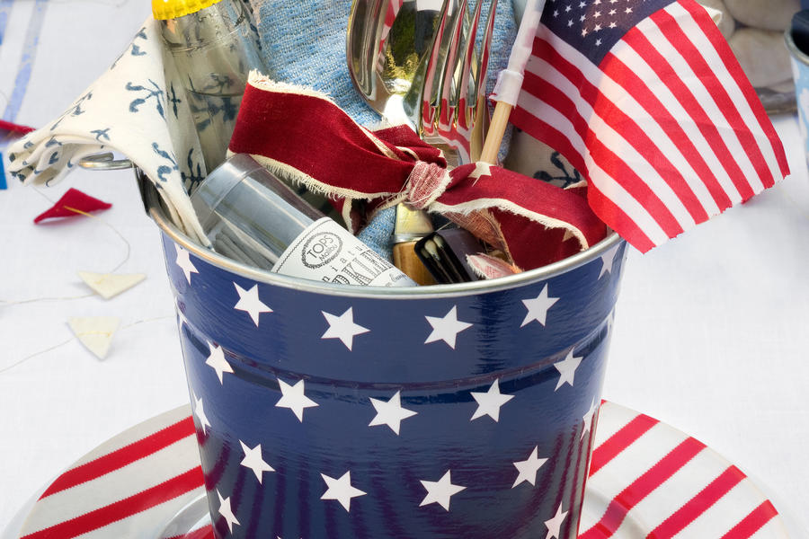 An All-American Party: Create a Party Pail
