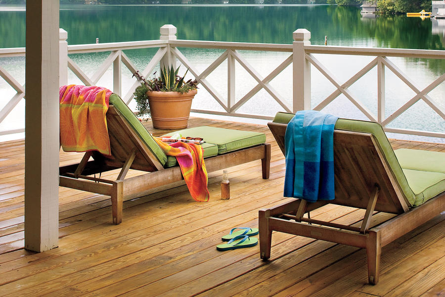 Lakeside Cabin Makeover: Deck with a View