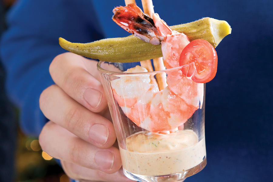 Southern Shrimp Cocktails