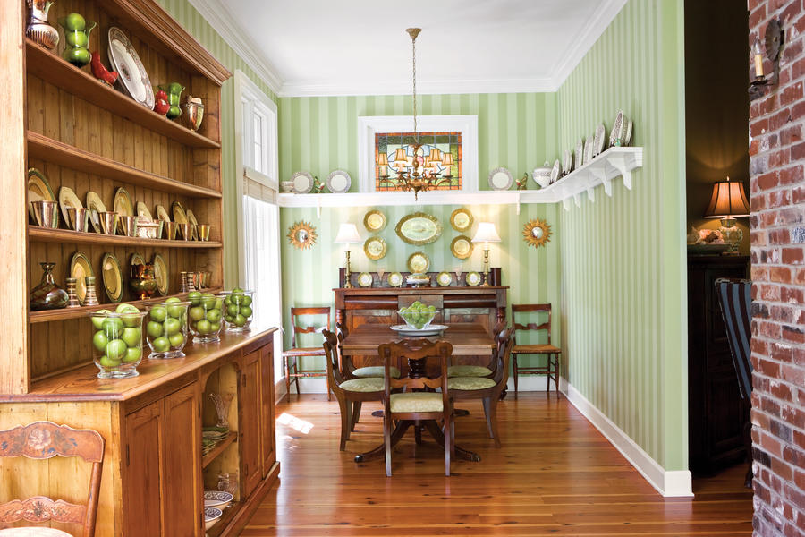 Install A Plate Rail Stylish Dining Room Decorating