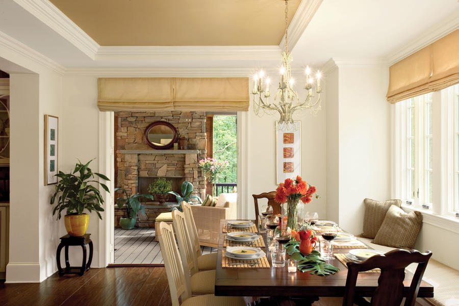 Build a banquette   stylish dining room decorating ideas ...