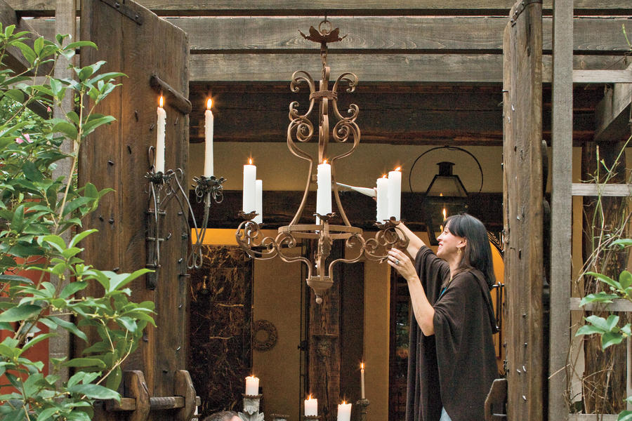 Antique Candlelight Fixtures