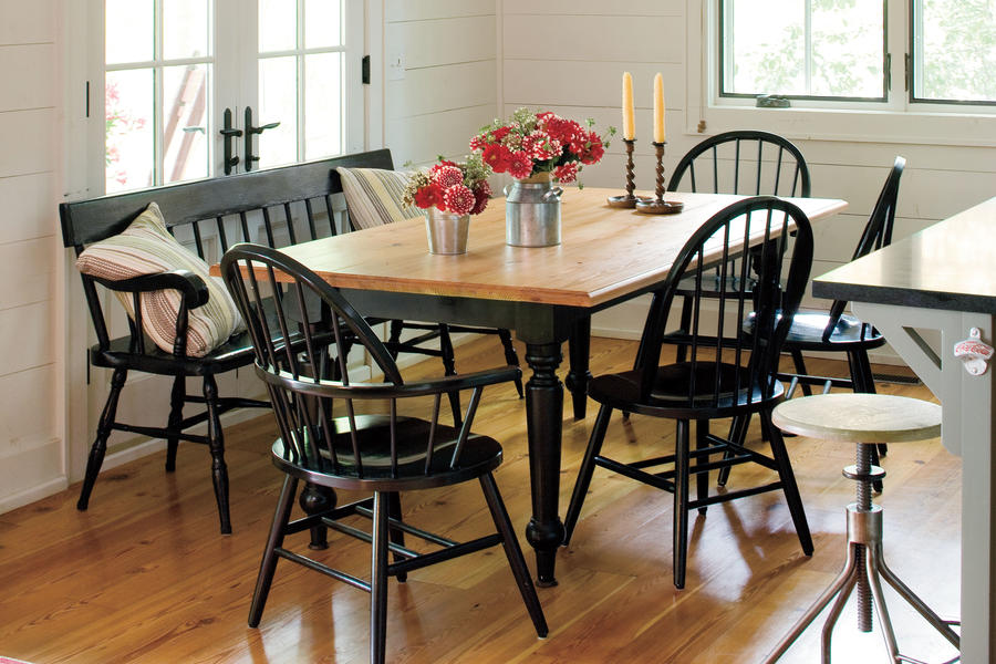Lakeside Cabin Makeover: Dining Area