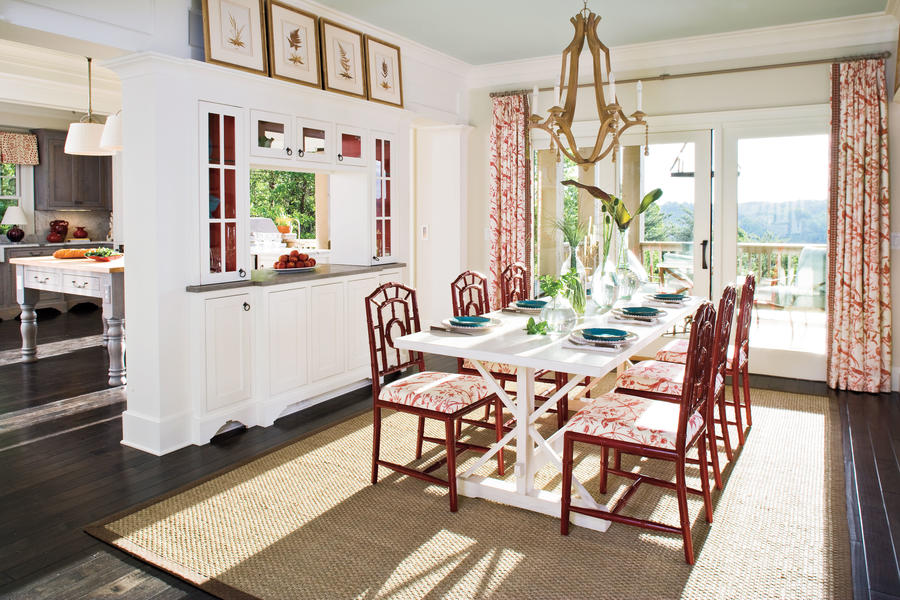 Mix Color And Style Stylish Dining Room Decorating Ideas Southern Living