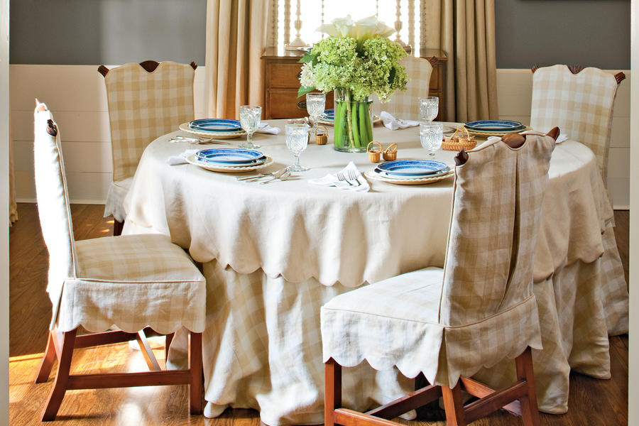 Soften the Space with Linens
