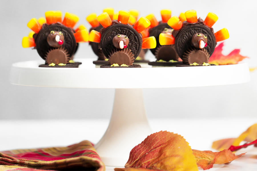 Chocolate Candy Turkeys for Thanksgiving
