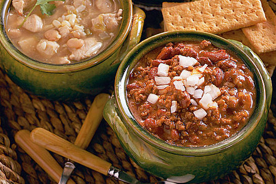 Ground Beef Recipes: Red Bean Chili