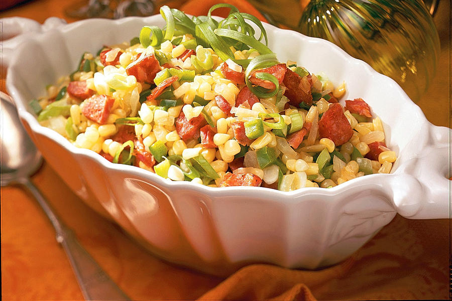 Thanksgiving Dinner Side Dishes: Cajun Corn Maque Choux Recipes
