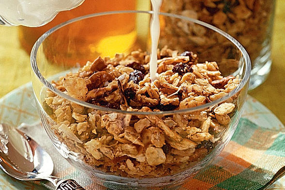 pecan coconut granola 12 17 this sweet and nutty granola is great as ...