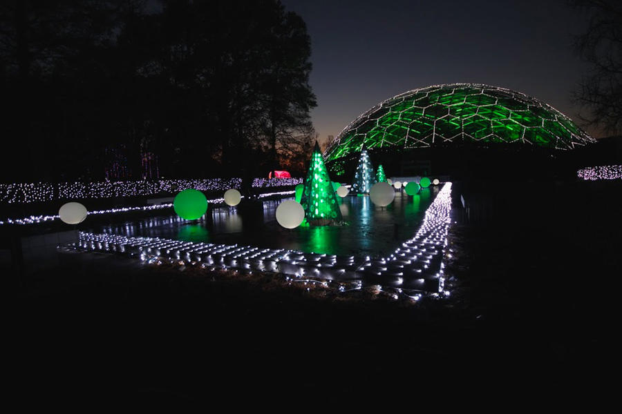 Garden Glow At The Missouri Botanical Garden The South 39 S Best Holiday Experiences Southern