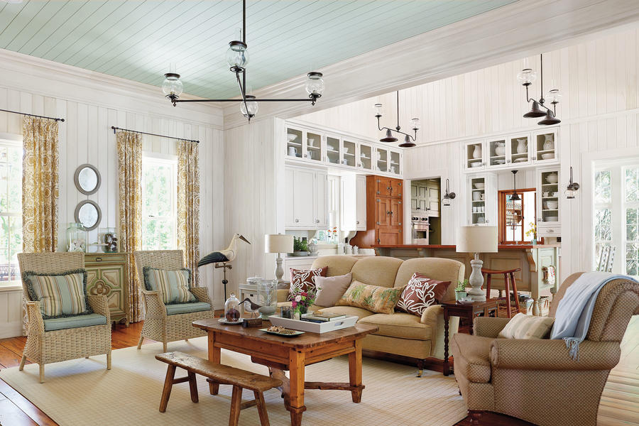 salvage original materials 106 living room decorating ideas southern living