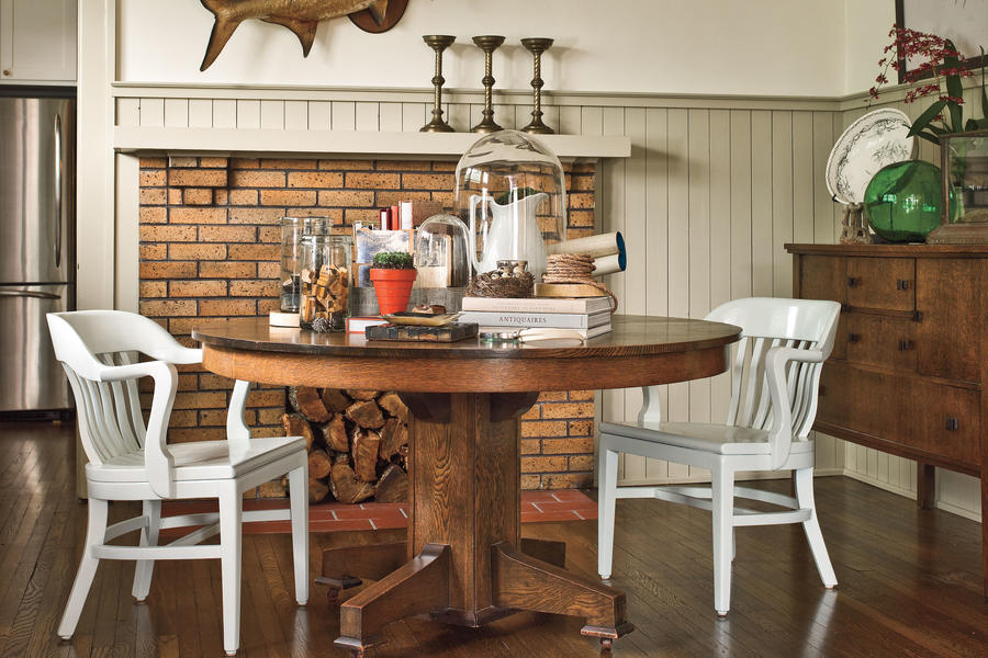 Mix Flea Market Finds with Family Heirlooms