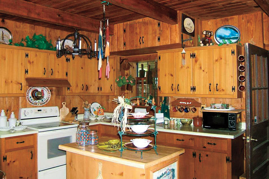Lakeside Cabin Makeover: Kitchen: Before