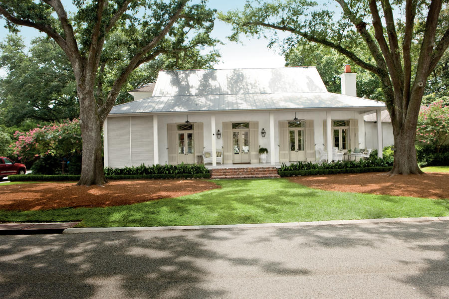 Classic Southern Home Southern Living   Baton Rouge Home Designers