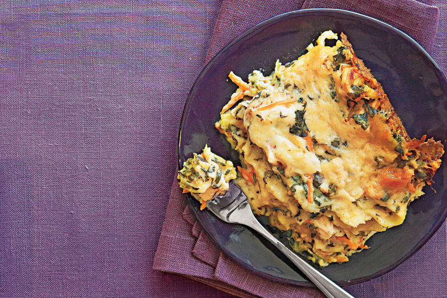 Chicken-and-Spinach Lasagna