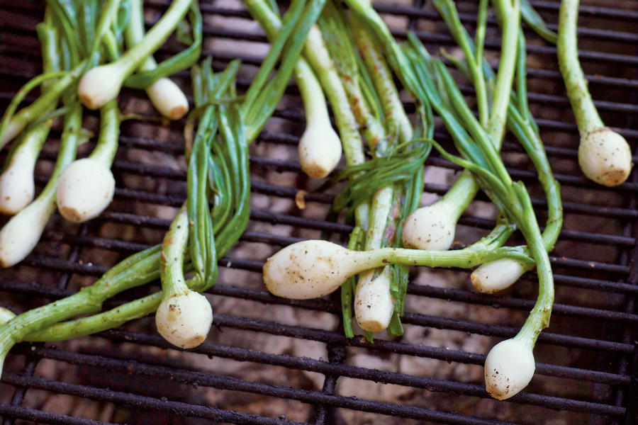Grilled Baby Onions