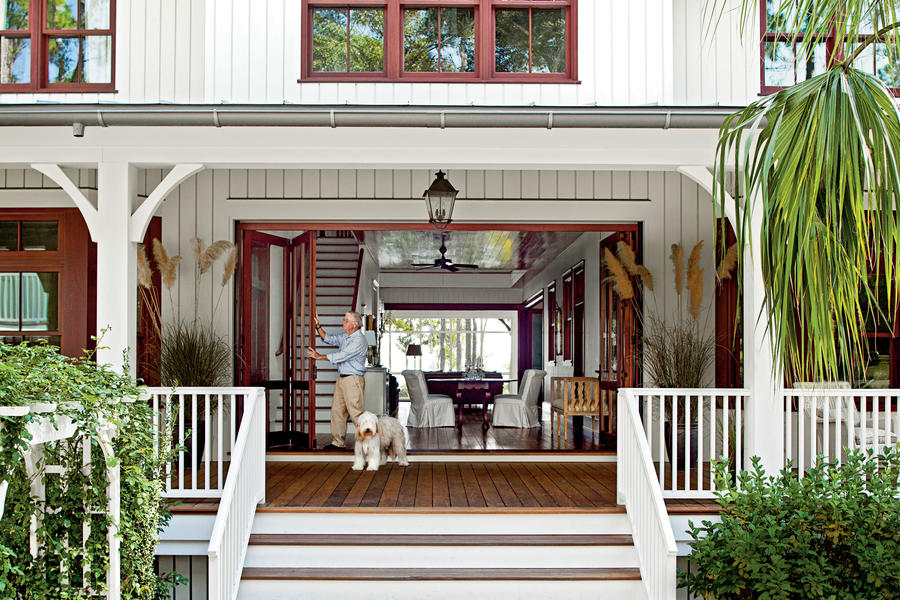 Entry Lowcountry Style House Southern Living