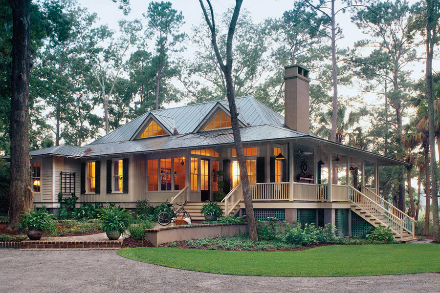 Top 12 best selling house plans southern living for 2 story lake house