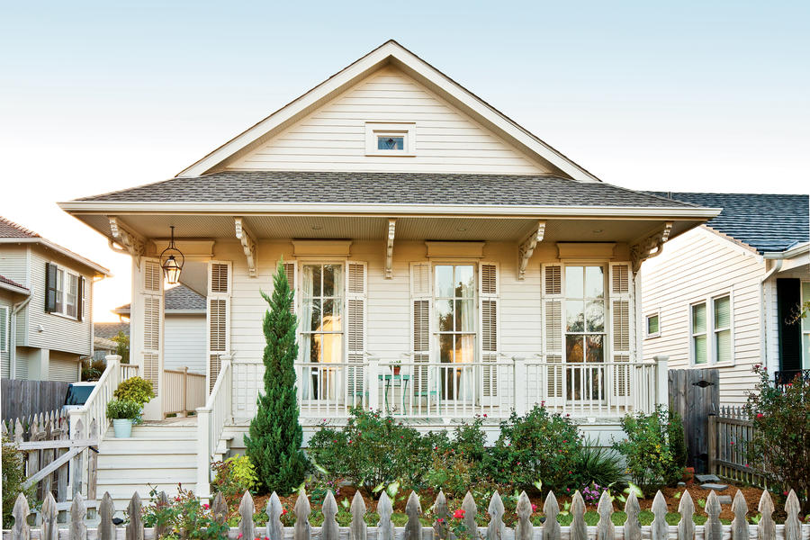 New orleans cottage revival southern living for New old home plans