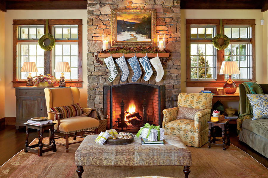 Awesome Holiday Tour Of Homes Southern Living Largest Home Design Picture Inspirations Pitcheantrous