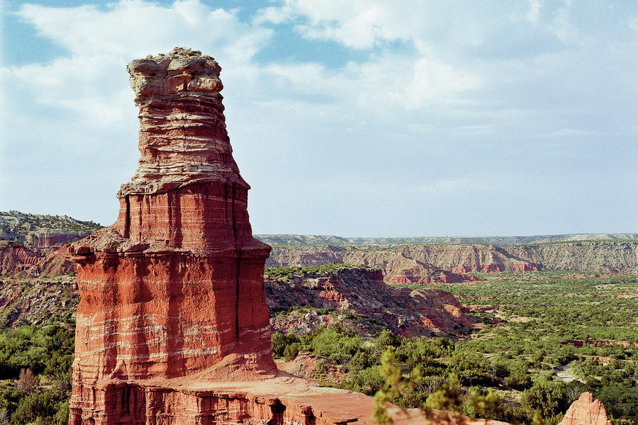 "Wow Factor: At 120 miles long, 20 miles wide, and 800 feet deep, it's the second largest canyon in the U.S., with ""painted"" canyon walls and intricate formations.You'll Love If: You dream of being in a Western.Explore It: Take a horseback ride through t"