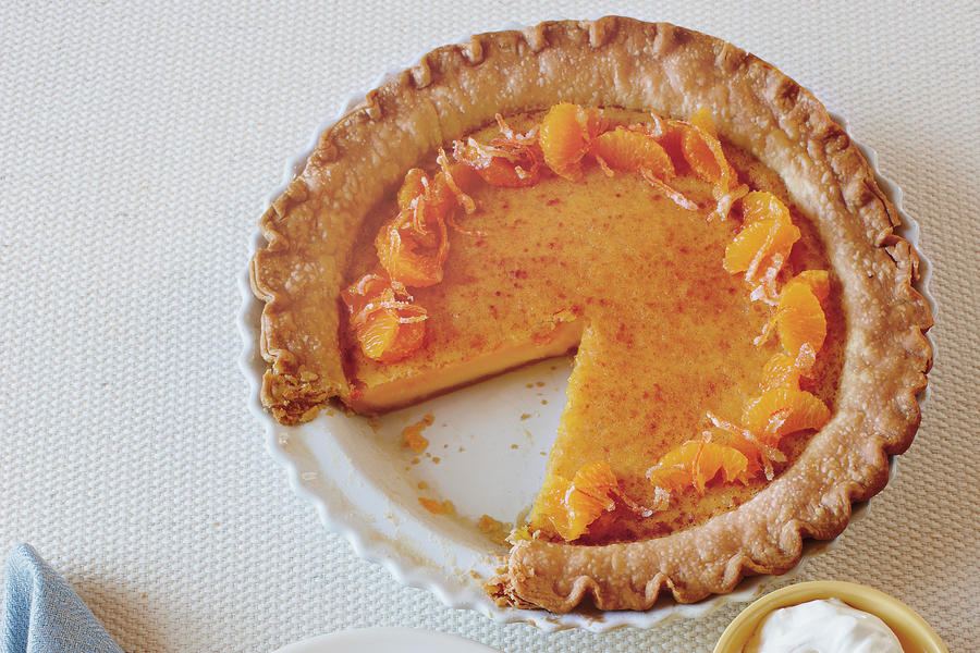 Pie Recipes: Tangerine Chess Pie