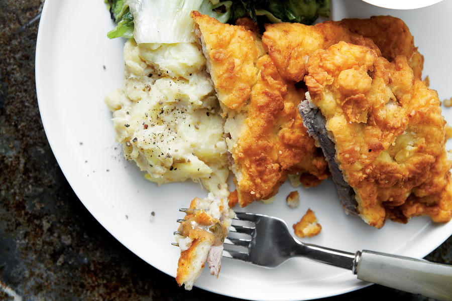 Chicken-Fried Steak with Redeye Gravy