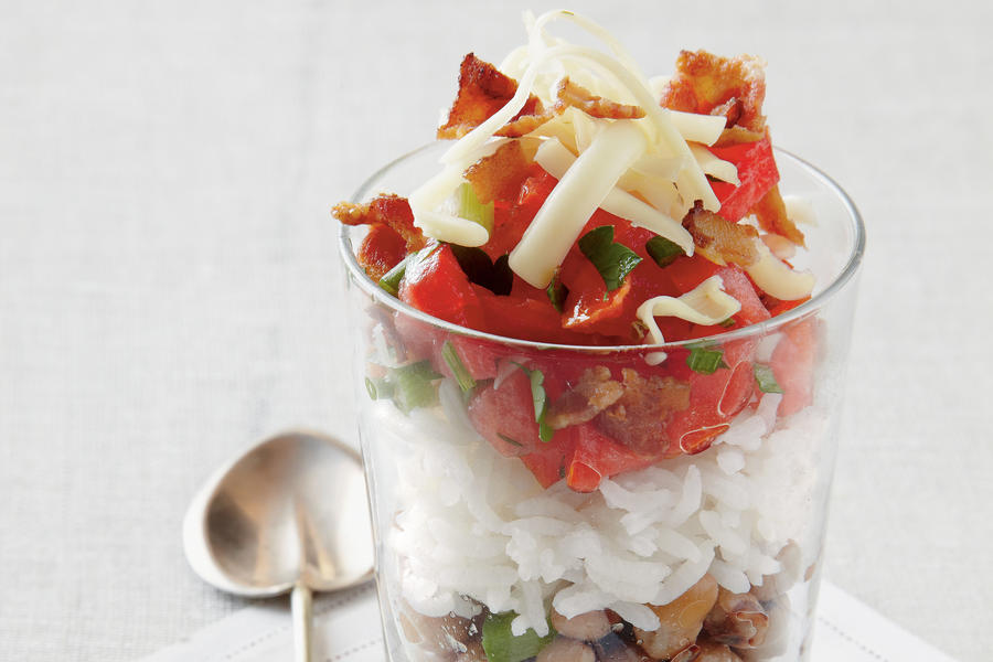 Hoppin' John Parfaits Recipe