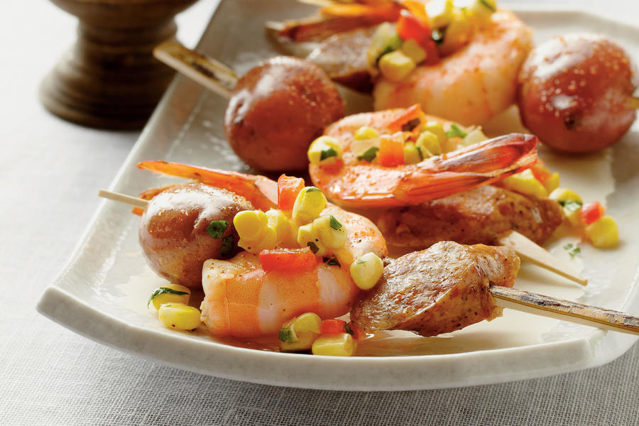 shrimp boil skewers recipe 86 78 recipe shrimp boil skewers serve this ...