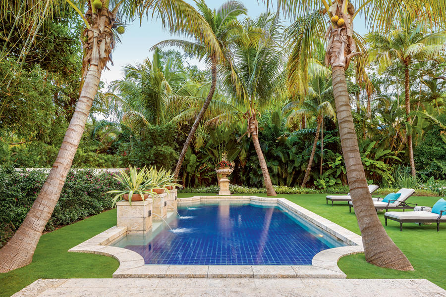 Magnificent Miami Pool Sparkling Pools Southern Living