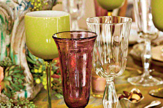 Mix and Match Stemware