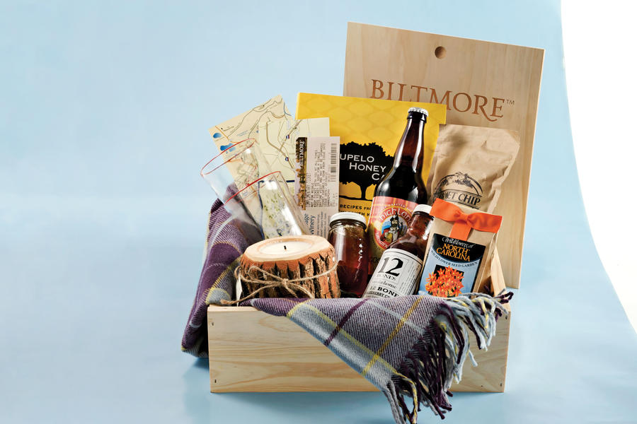 Asheville-Inspired Welcome Basket