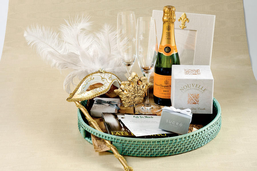 New Orleans-Inspired Welcome Basket