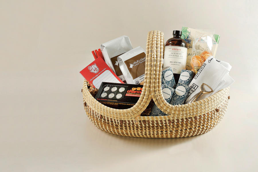 Charleston-Inspired Welcome Basket