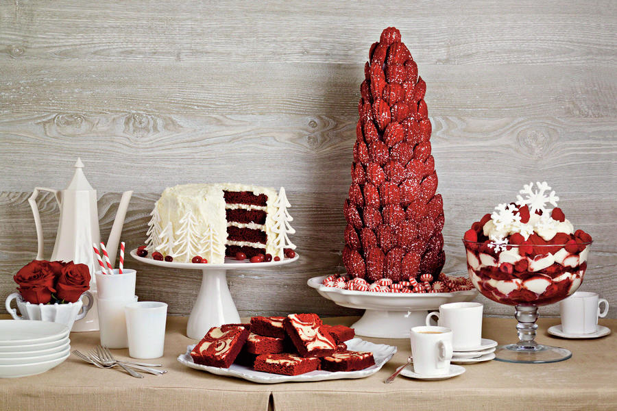 Sweet Red Velvet Dessert Recipes