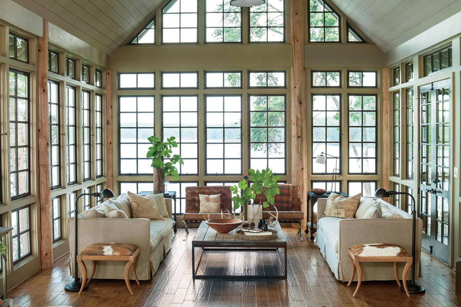 Focus On The View - Lake House Decorating Ideas - Southern Living