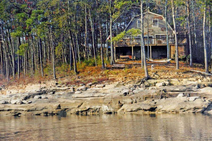 Lake House Before