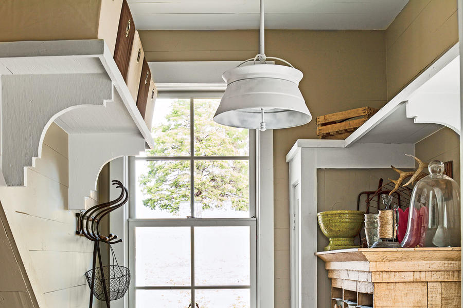Budget-Savvy Solution: Overhead Shelves