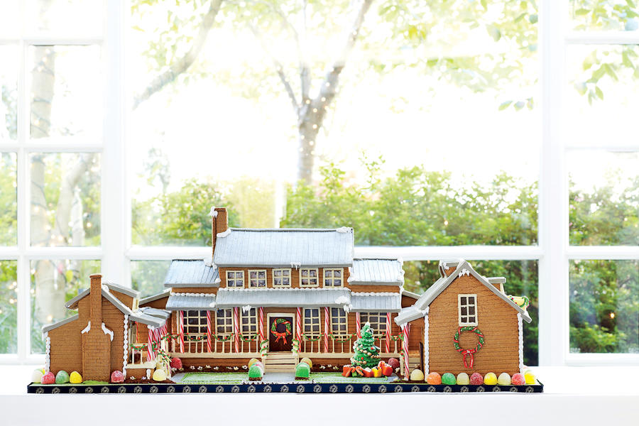 Gingerbread Idea House