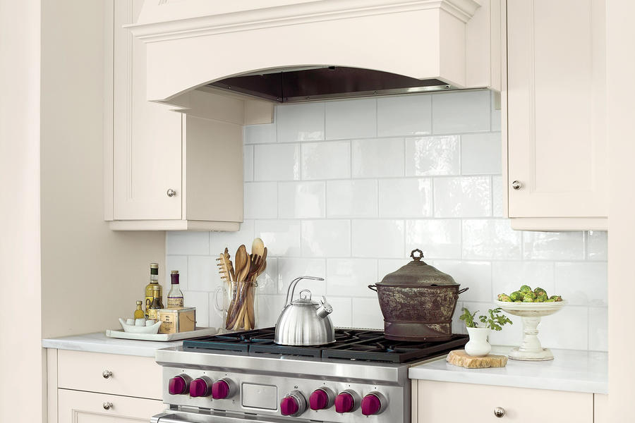 The Details: Elegant Backsplash